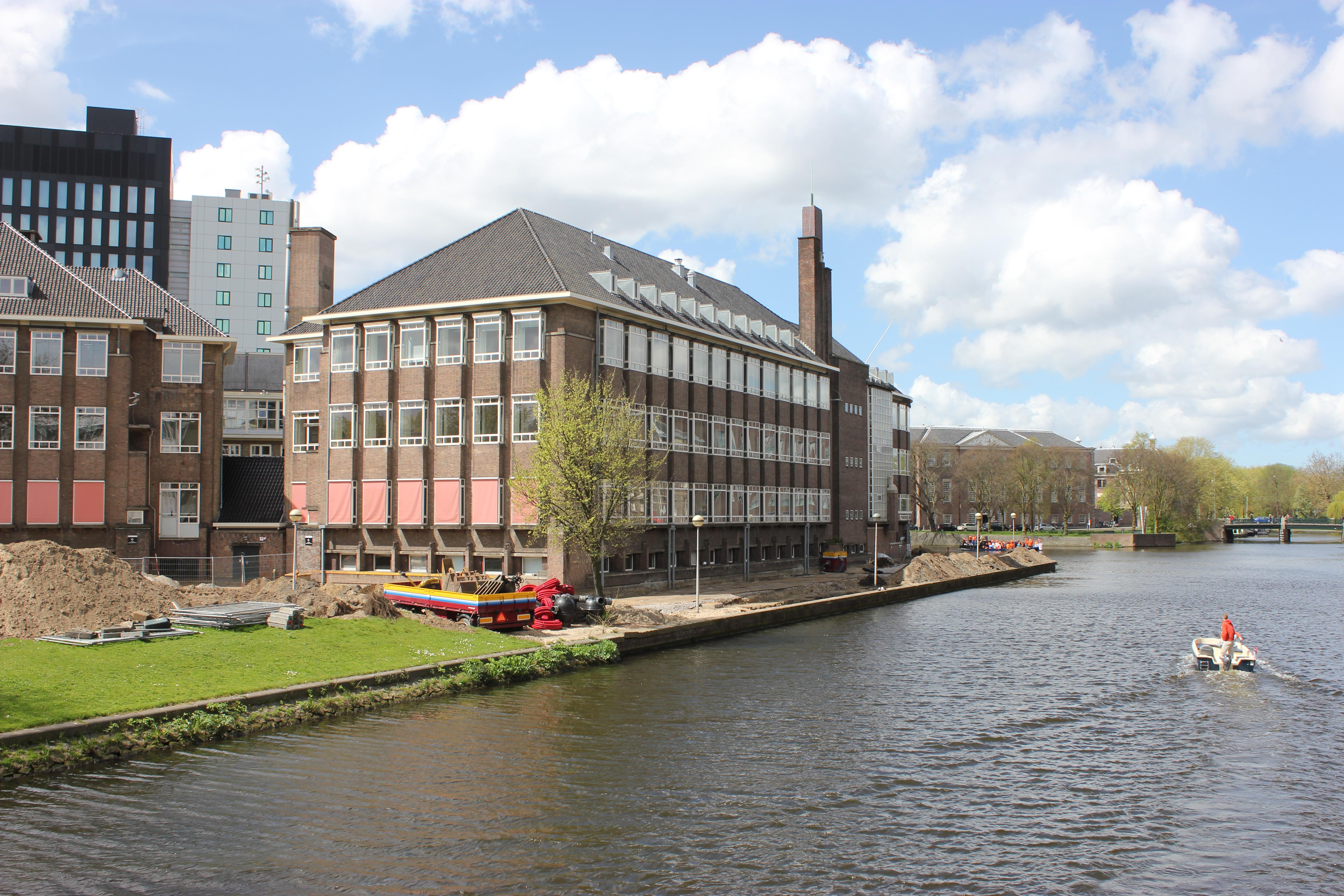 Faculteitsgebouw psychologie van de UVA, Amsterdam Roeterseiland
