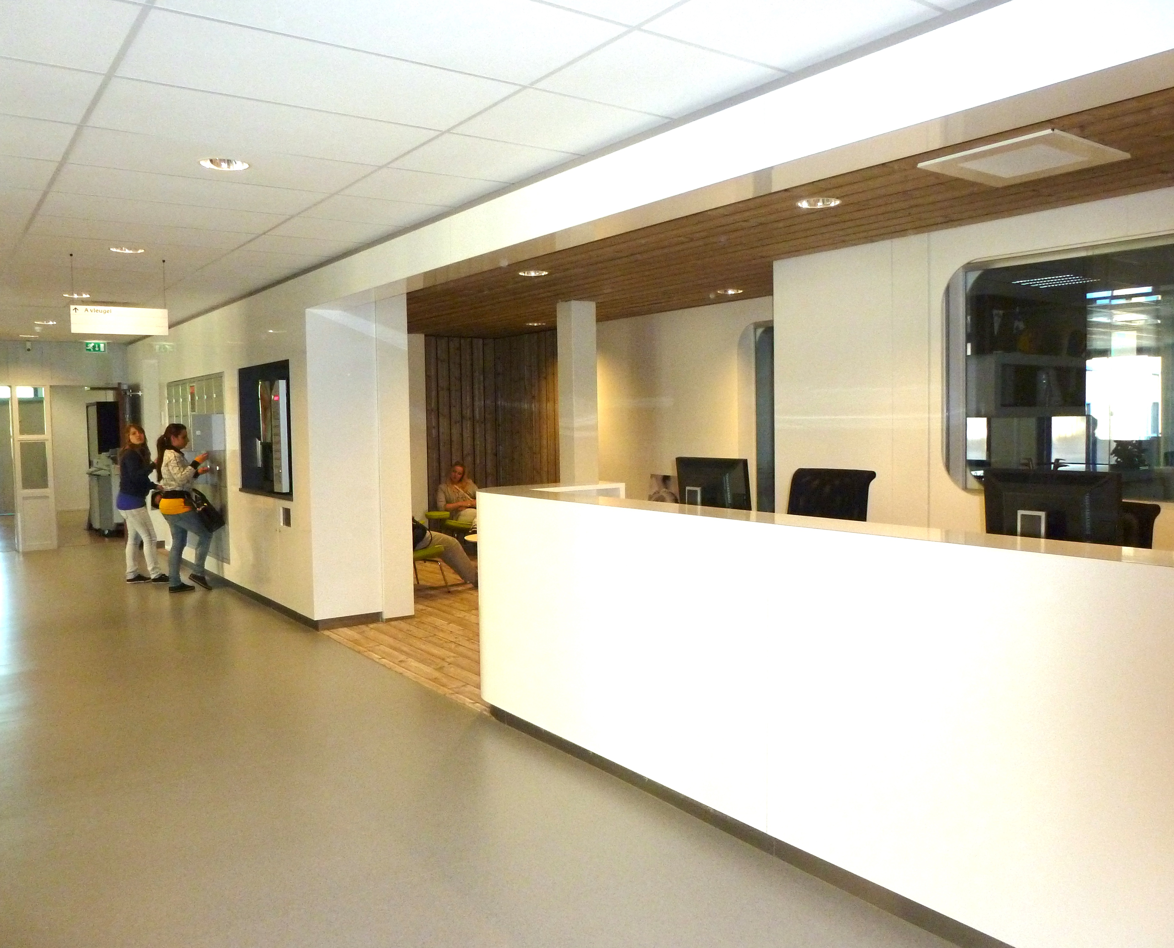 Onderwijsgebouwen en sportzalen ROC Regio College, Zaandam