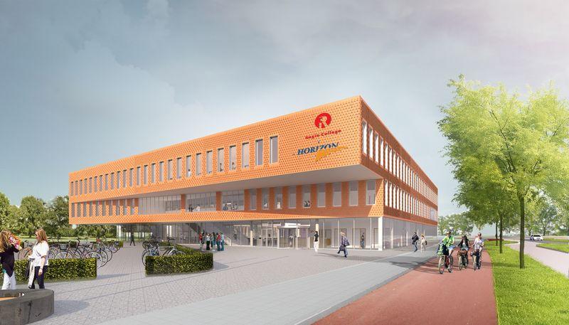 Nieuwbouw ROC Horizon College en Regio College, Purmerend