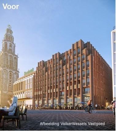 Nieuwbouw Market Hotel Groningen
