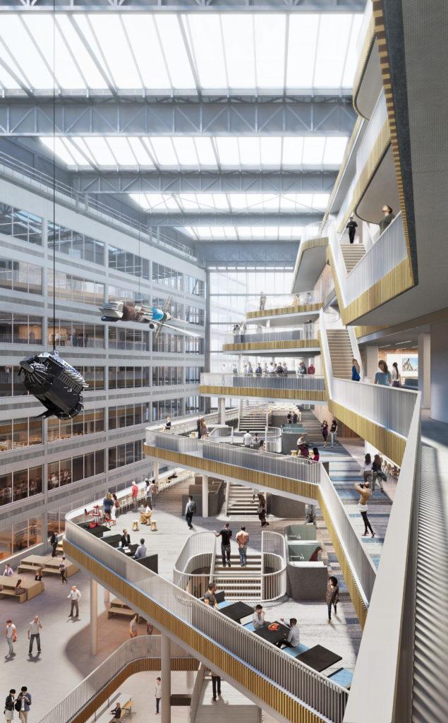 Nieuwbouw Conradhuis Hogeschool van Amsterdam